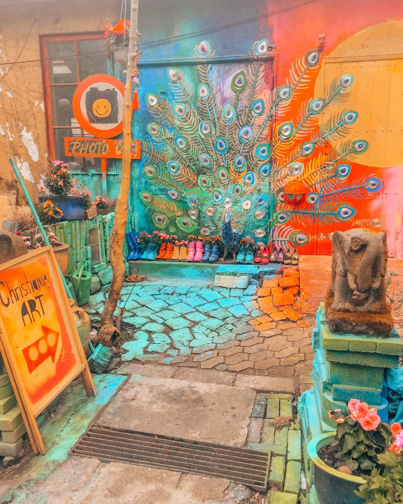 Shop in Christiania
