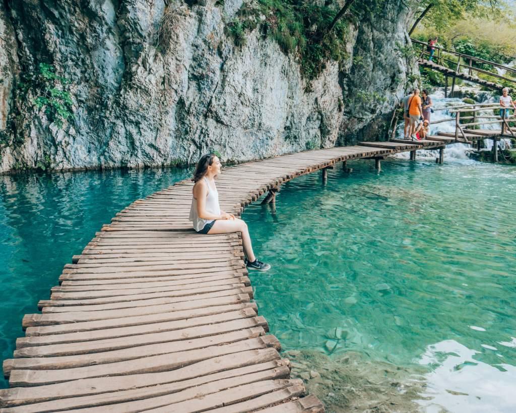 Boardwalk in Plitvice Lakes