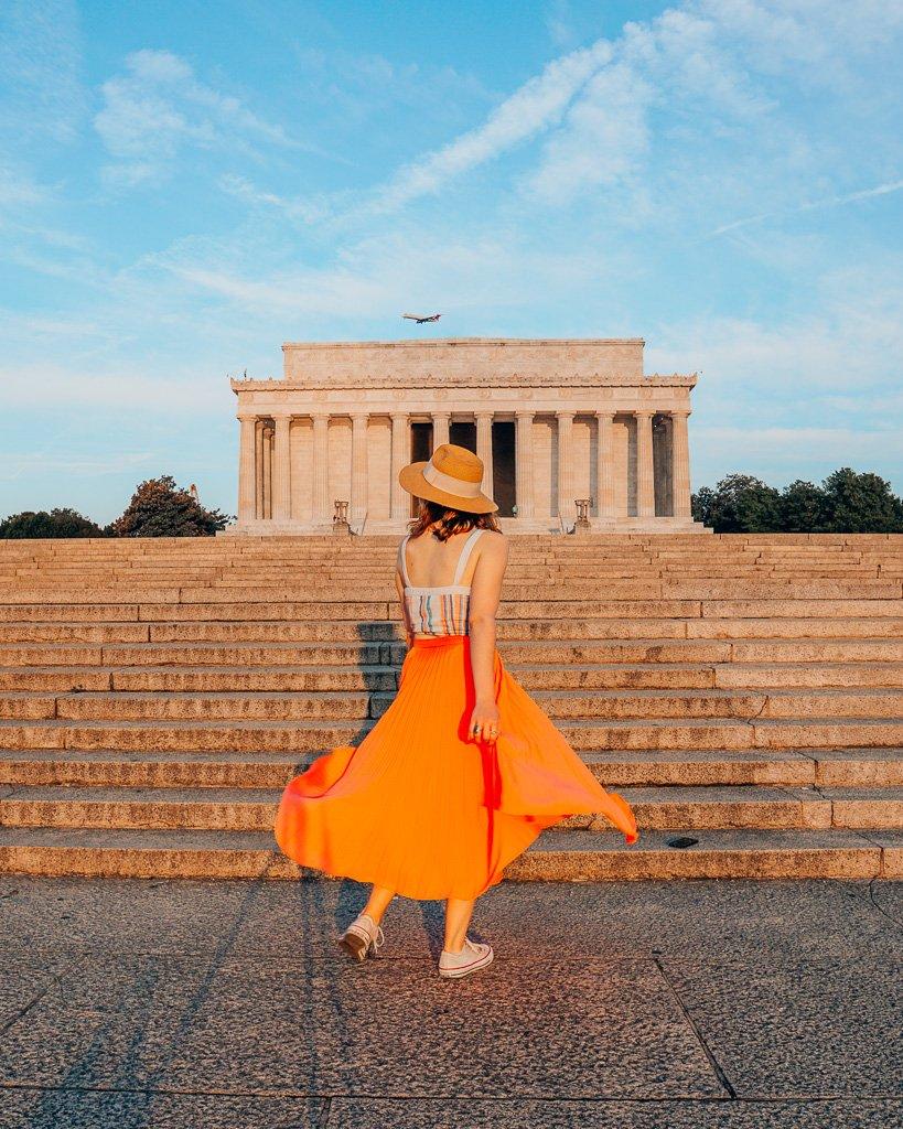 Instagram Location in Washington, DC - Lincoln Memorial