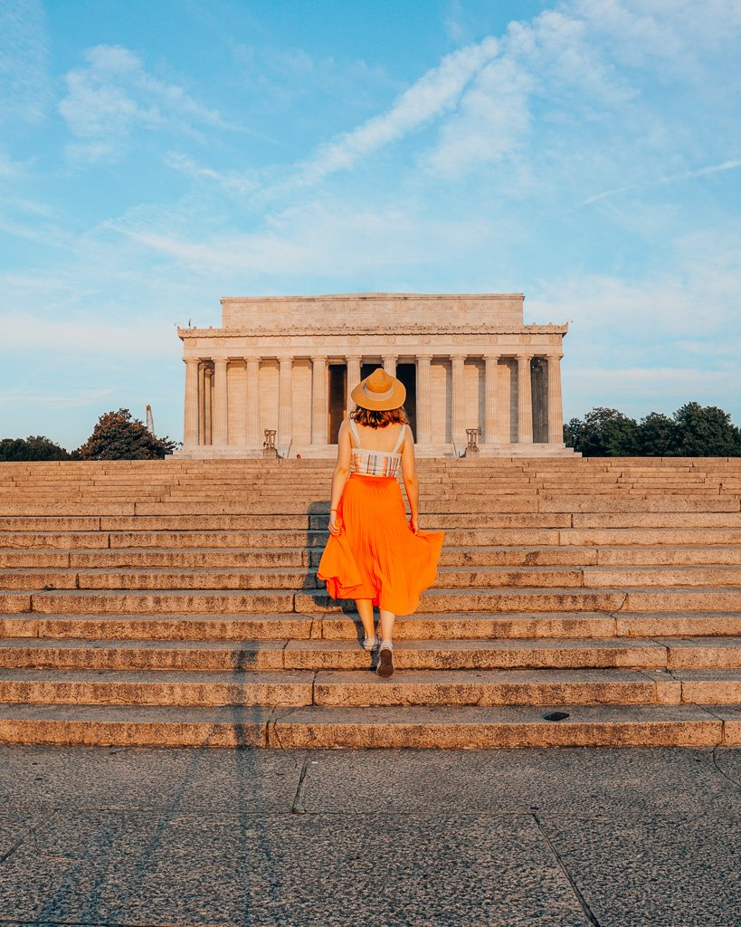 Lincoln Memorial in Washington, DC