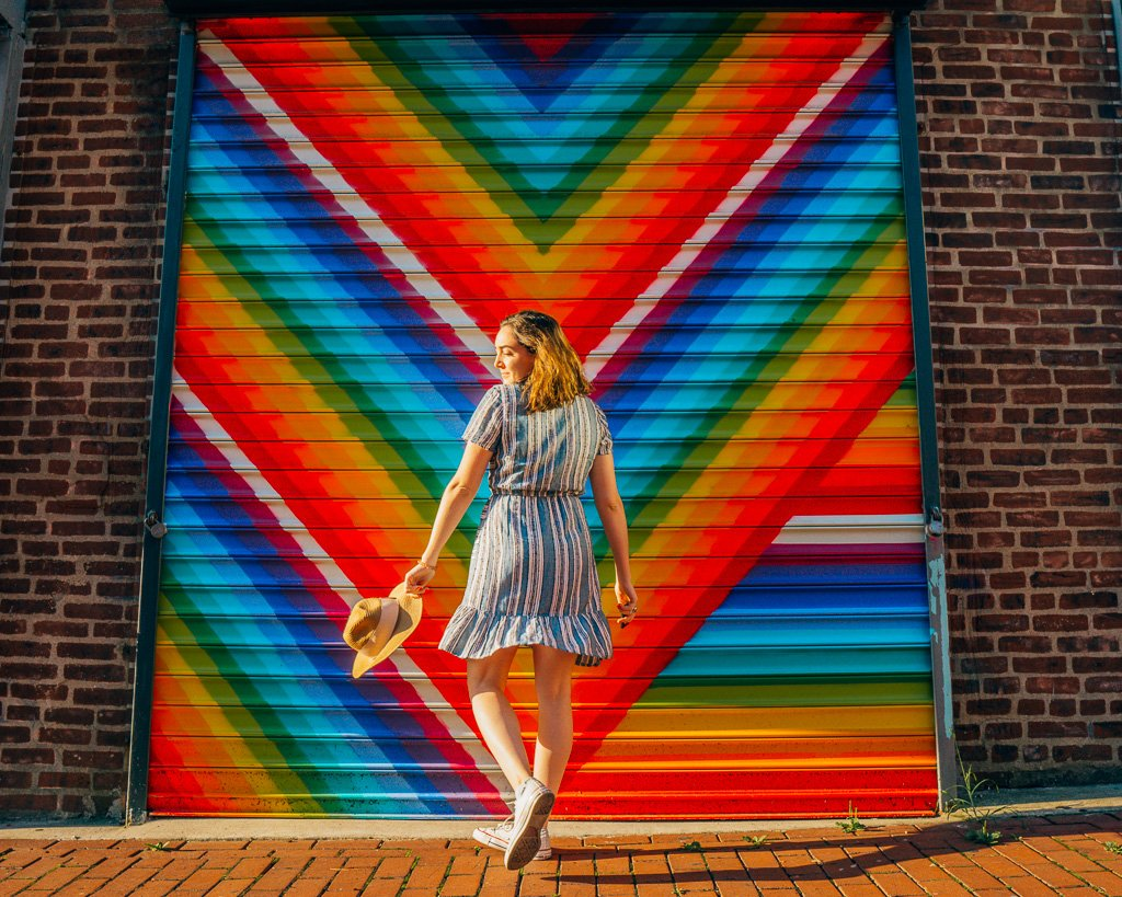 Blagden Alley in Washington, DC