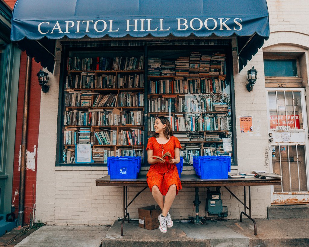 Capitol Hill Books in Washington, DC