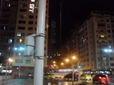 night time Rio's streets, Hugo Morel