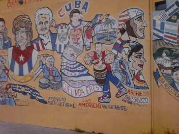 Cuban street art, Hugo Morel