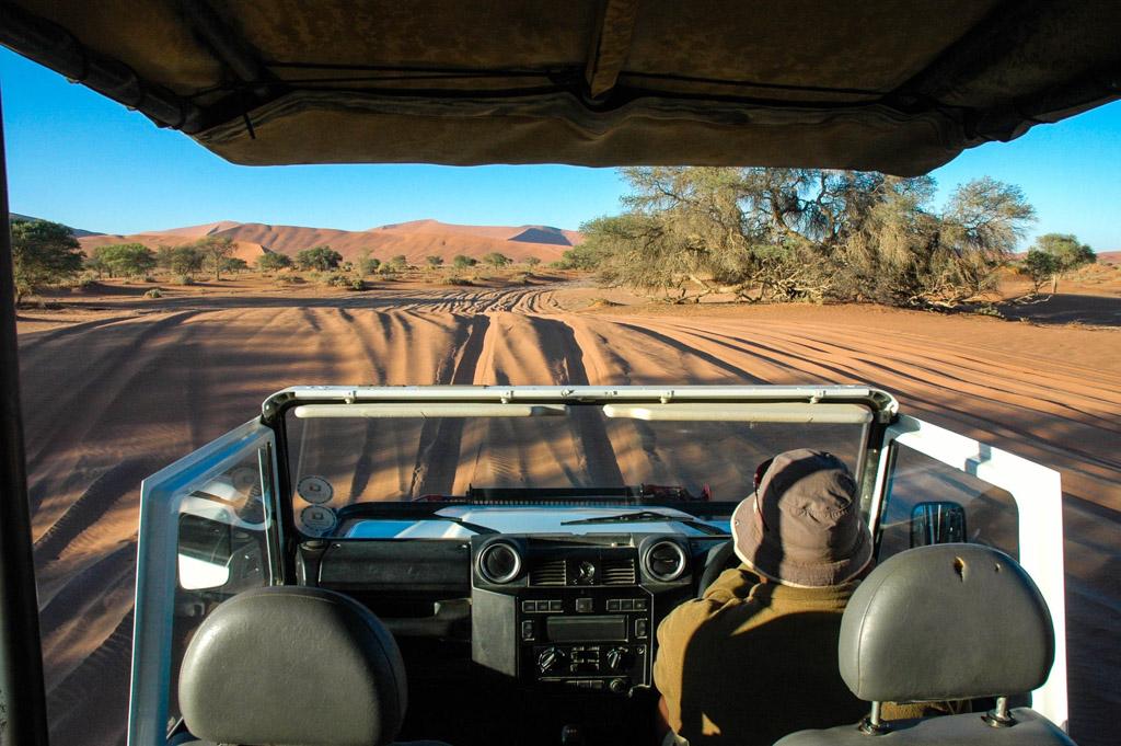 Sand Dunes in Sossusvlei, Namibia
