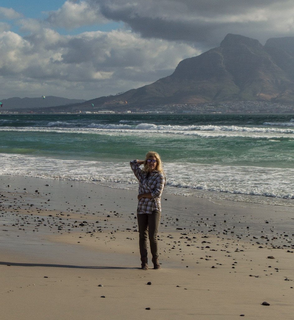 It's typically windy, but also private on the West Coast beaches of Cape Town, South Africa