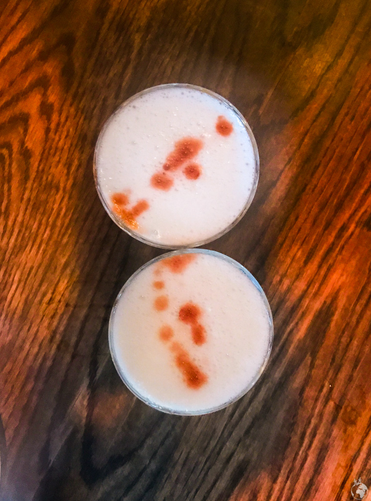 Pisco Sours at Charango Peruvian Grill in Cape Town, South Africa