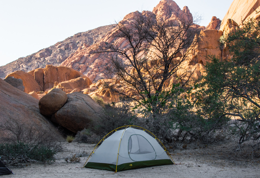 Our camp site at Spitzkoppe