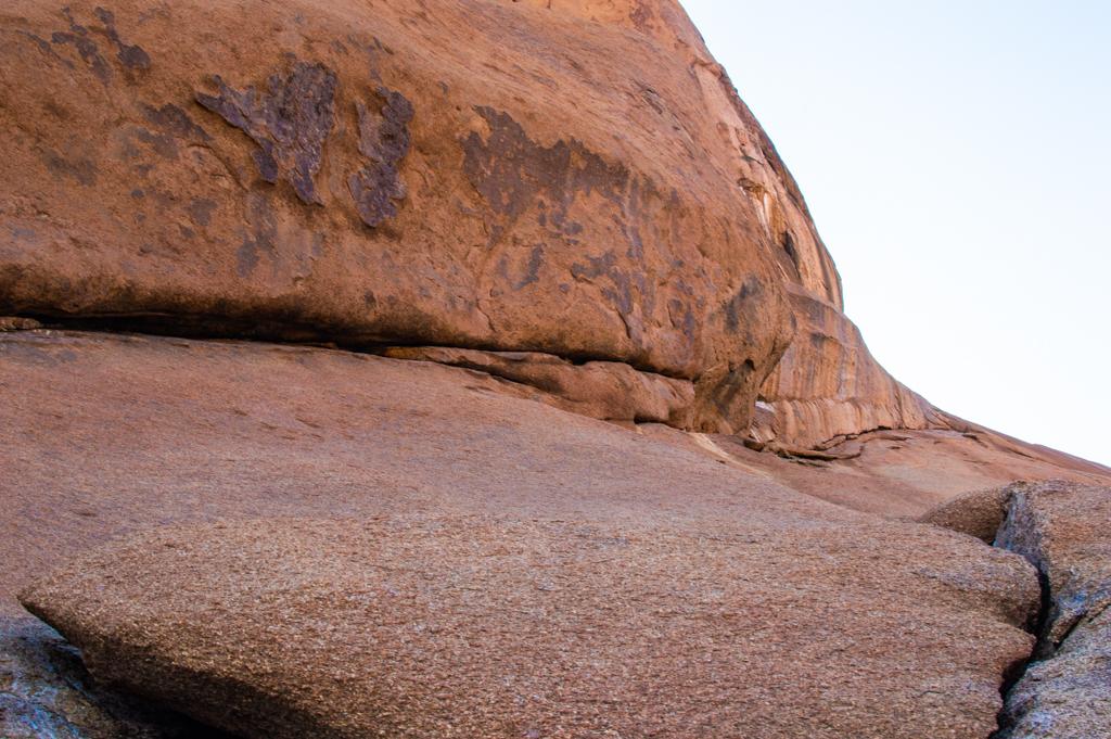 Rocks in the region are unique