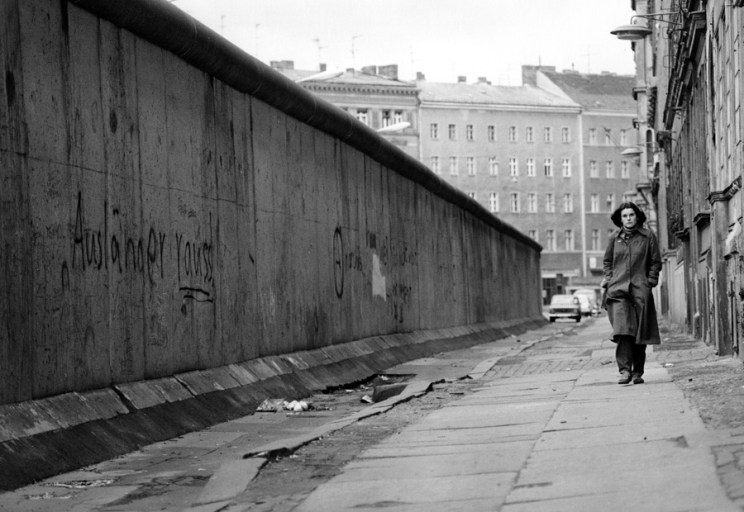The Berlin Wall, 1962