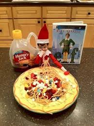 An Elf's 4 food groups!