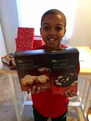My son, Reece, loves Gold Emblem cookies!