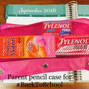 How To Be Positively Prepared For Back To School With Tylenol and Motrin Products