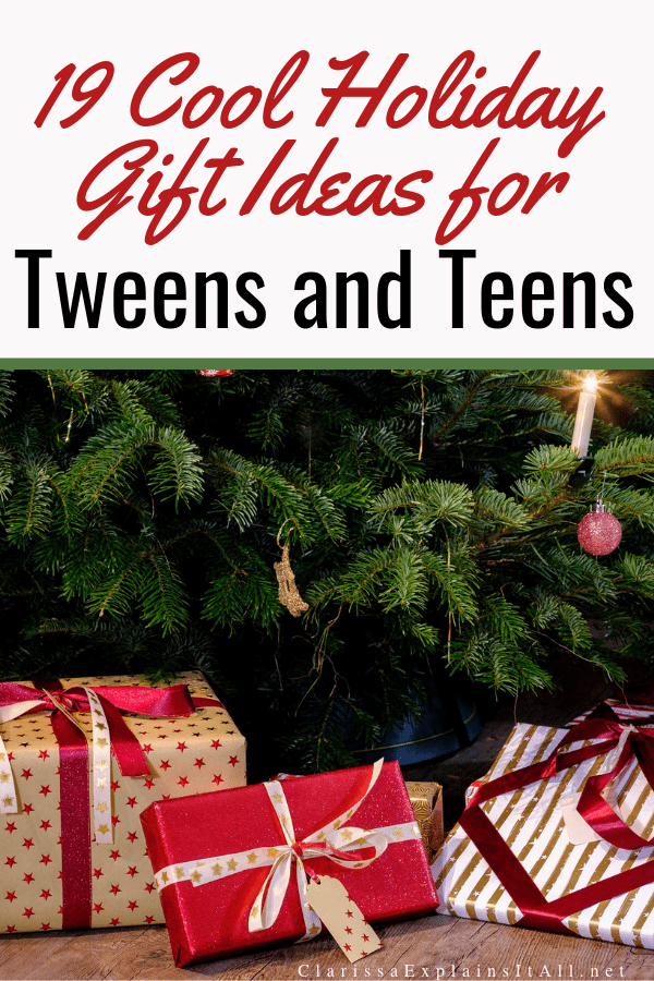 Do you have a hard to shop for tween or teen in your life? Here are 19 cool holiday gift ideas for tweens and teens this holiday season.
