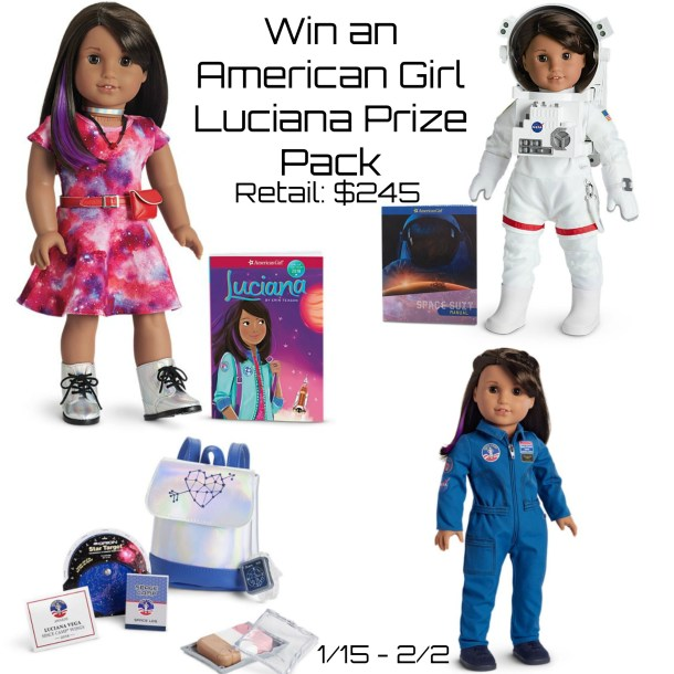 Win an American Girl Luciana Prize Pack -- Ends 2/2/18 @American_Girl
