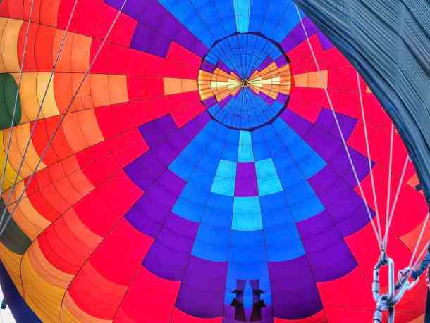 Inside of the Balloon