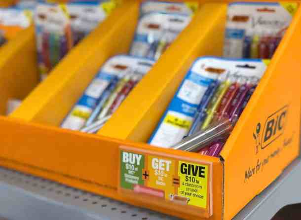 Give Back At The Same Time You Shop For Back To School