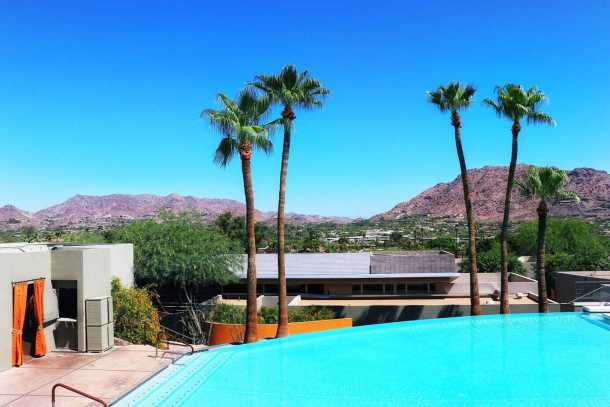 Sanctuary on Camelback Resort infinity pool