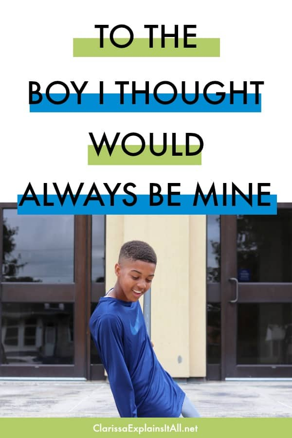 To The Boy I Thought Would Always Be Mine