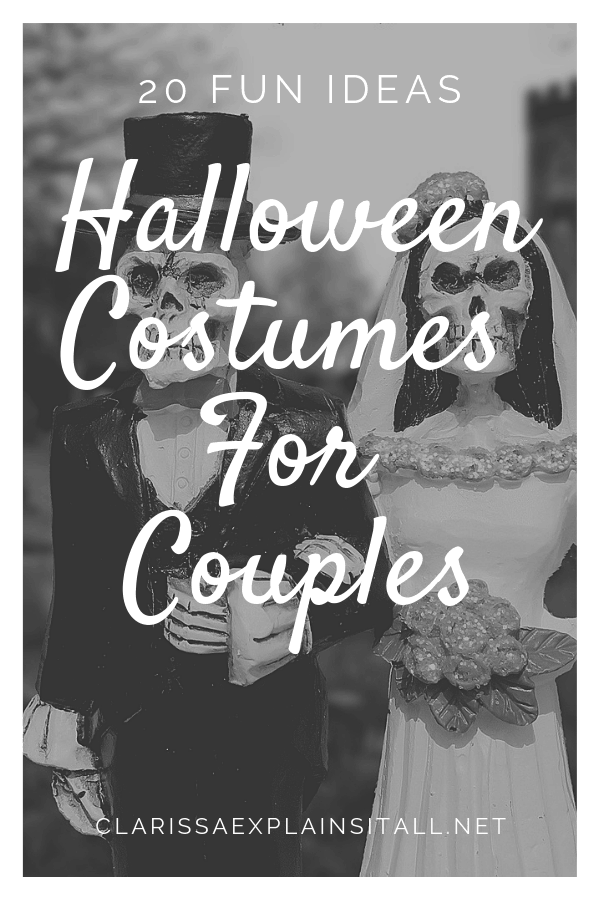 20 Fun Ideas Of Cute Halloween Costumes For Couples
