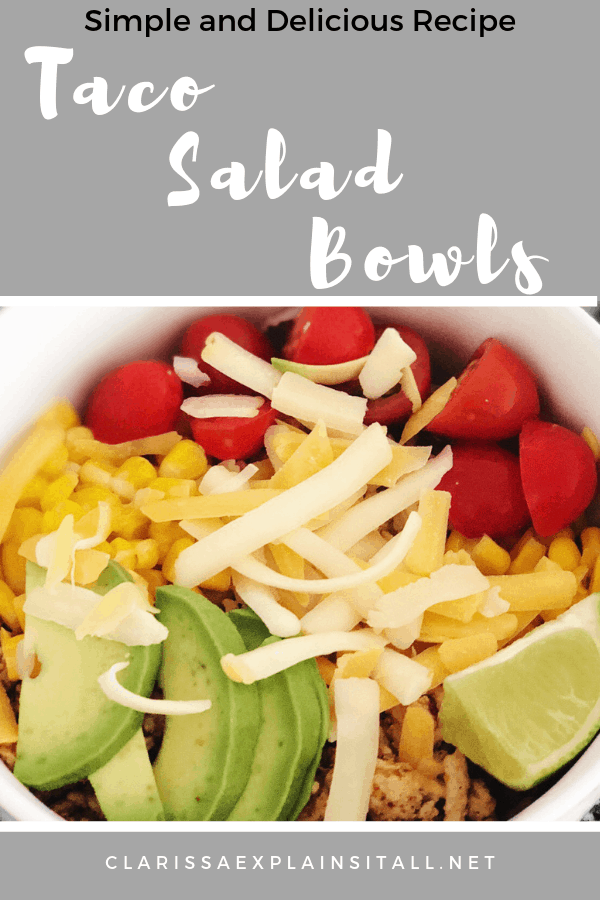 Are you looking for an easy go-to dinner recipe that the whole family will love? Find out how to make taco salad bowls for a unique spin on tacos.