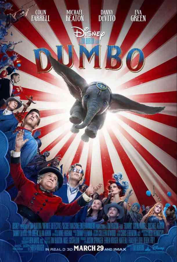 Dumbo Disney movie 2019
