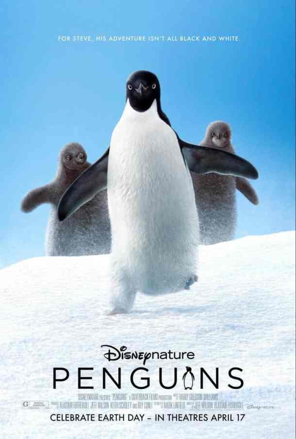 Penguins movie Disneynature 2019