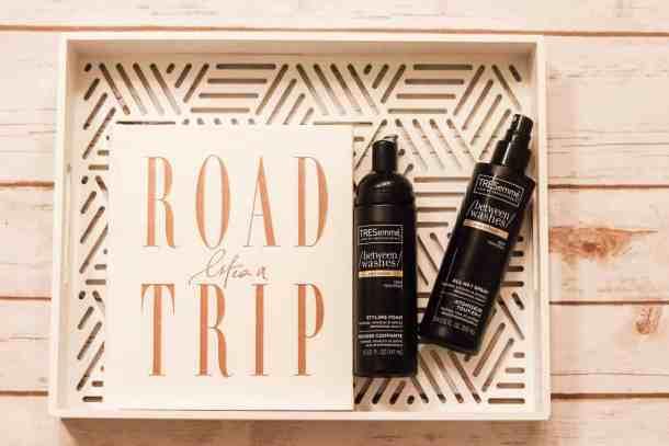healthy hair TRESemme road trip