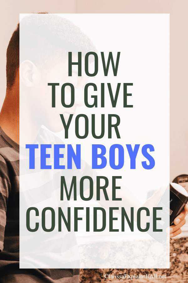 When it comes to teens, do you know how to give your teen boys more confidence? I'm sharing tips for having a Momversation about hygiene, hormones and more.