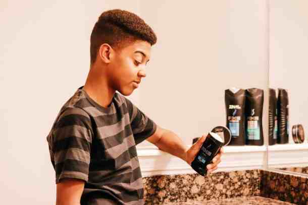 AXE for teen boys