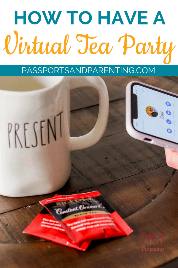"""Learn how to enjoy a cup of tea with someone near or far. Here's how to have a virtual tea party thanks to Bigelow Tea's """"Constant Comment""""."""