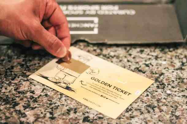 Fanchest Golden Ticket