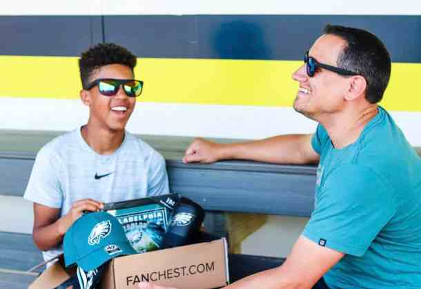 Philadelphia Eagles Fanchest from son to Dad for fathers day gift
