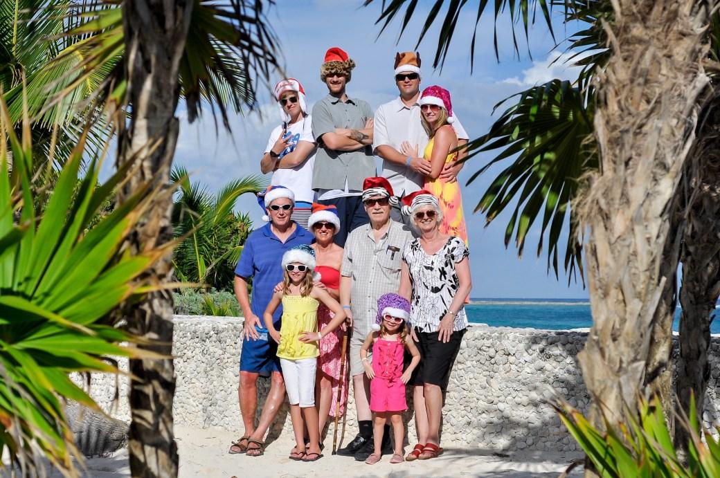 Christmas in Mexico, Bahia Principe, Riviera Maya