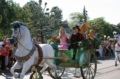 Sleeping Beauty, Disney Paris Parade