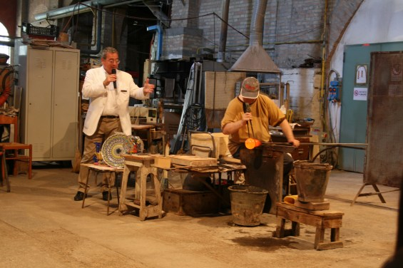 Glass Blowing in Murano