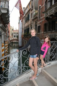 The girls in Venice