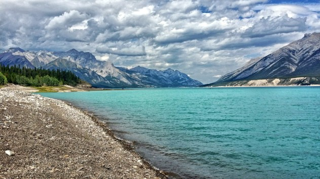 Abraham Lake in Summer