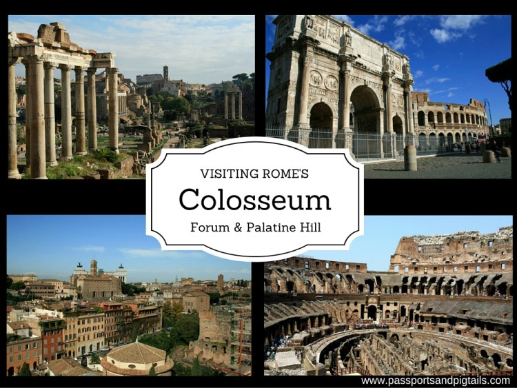 Pillars, Power and Performance: Visiting Rome's Colosseum & Forum
