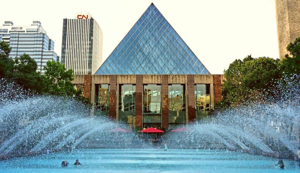 Churchill Square, Edmonton, Alberta Canada