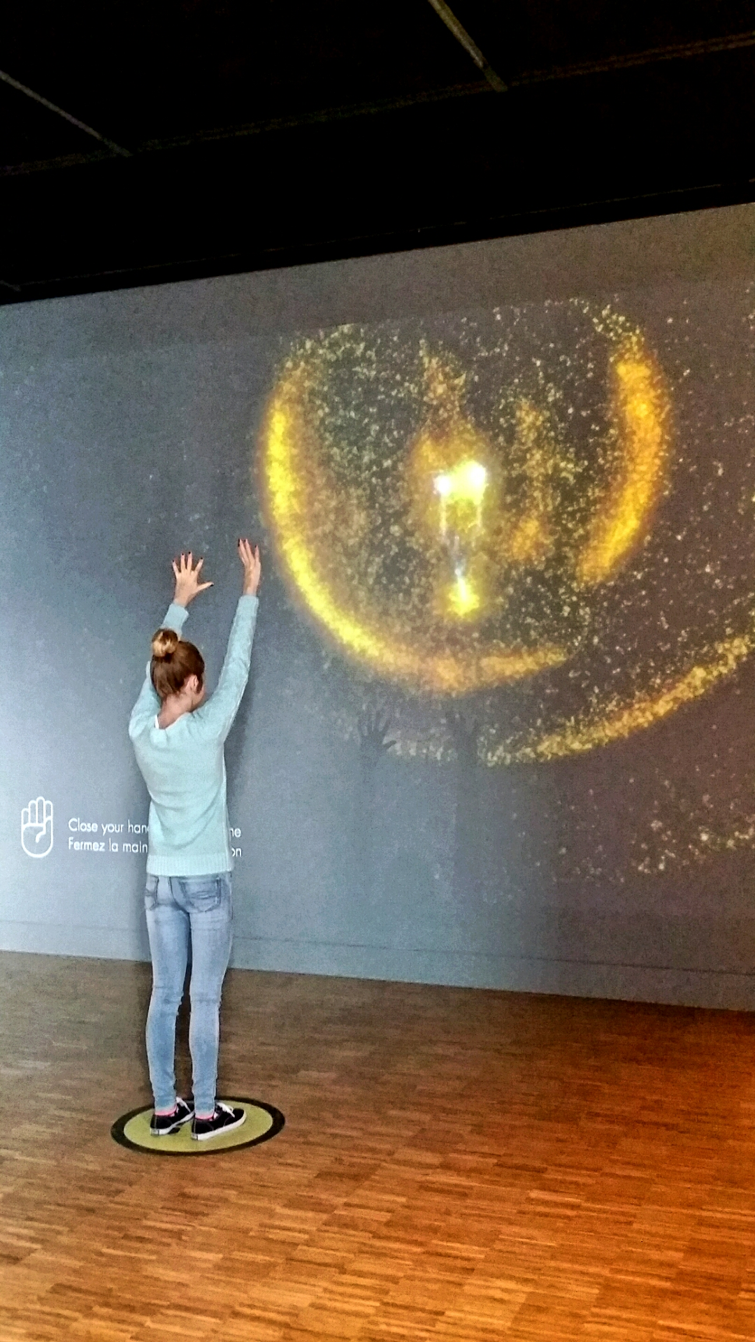 Interactive Light and Sound, National Music Centre, Calgary