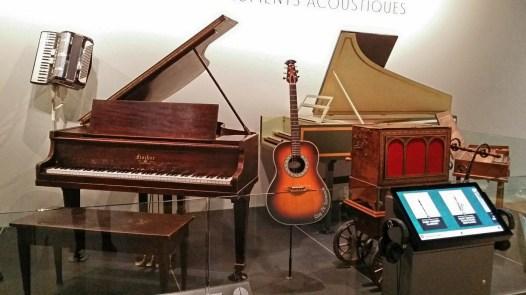 Display, National Music Centre, Calgary