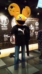 The famous Dead Mau5 outfit, National Music Centre, Calgary
