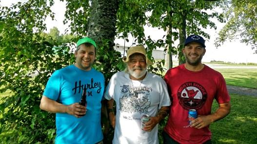 The men of the B Family