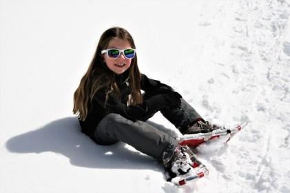 Snowshoeing at Mount Engadine Lodge, Kananaskis