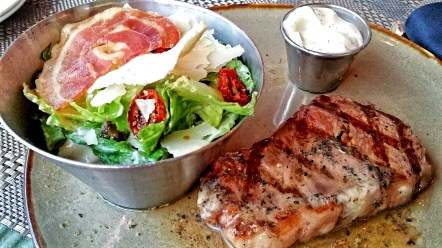 Steak, Confederation Lounge, Hotel Macdonald
