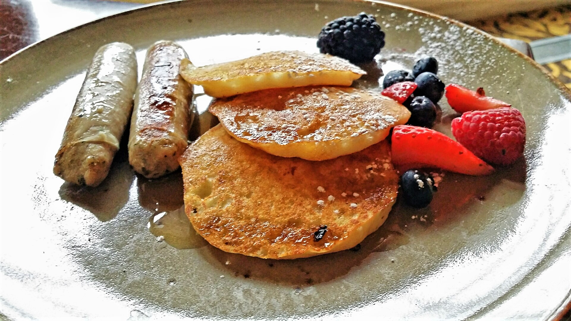 Kids Pancakes, The Harvest Room, Fairmont Hotel Macdonald