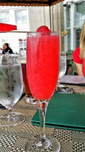 Raspberry, Confederation Lounge at Hotel Macdonald