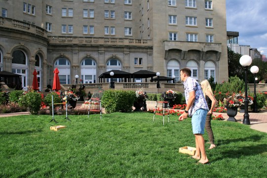 The Gardens of Fairmont Hotel Macdonald