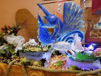 Christmas Eve Buffet, Barcelo Maya Grand, Mayan Riviera, Mexico